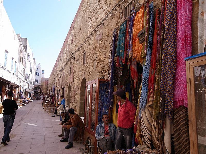 Beautiful colors in Essaouira