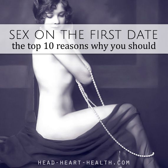 Dating sex on first date