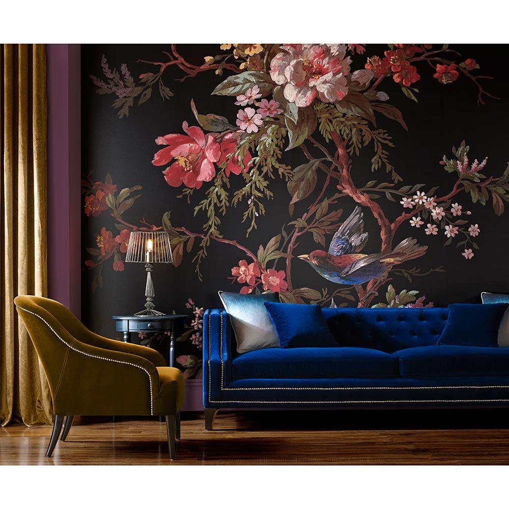Graham Brown Venetian Floral Mural Room Wallpaper Des
