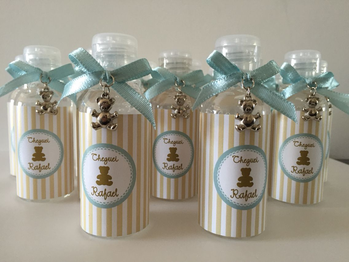 Alcool Gel para lembrancinhas   gifts   Pinterest   Baby, Dyi and ... 66949f91b0