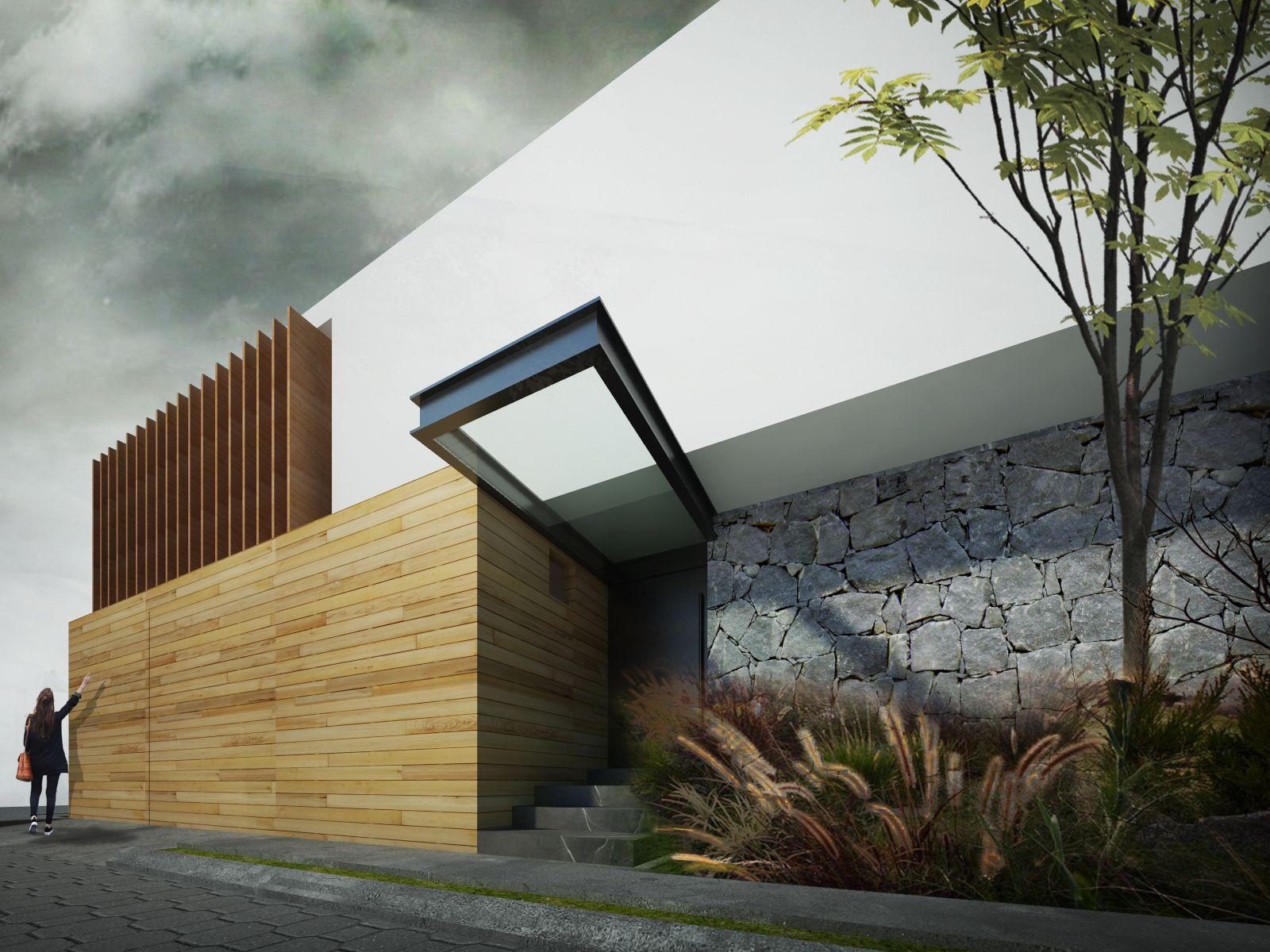Casa olea vivienda t e a t e a for Casa minimalista tlalpan