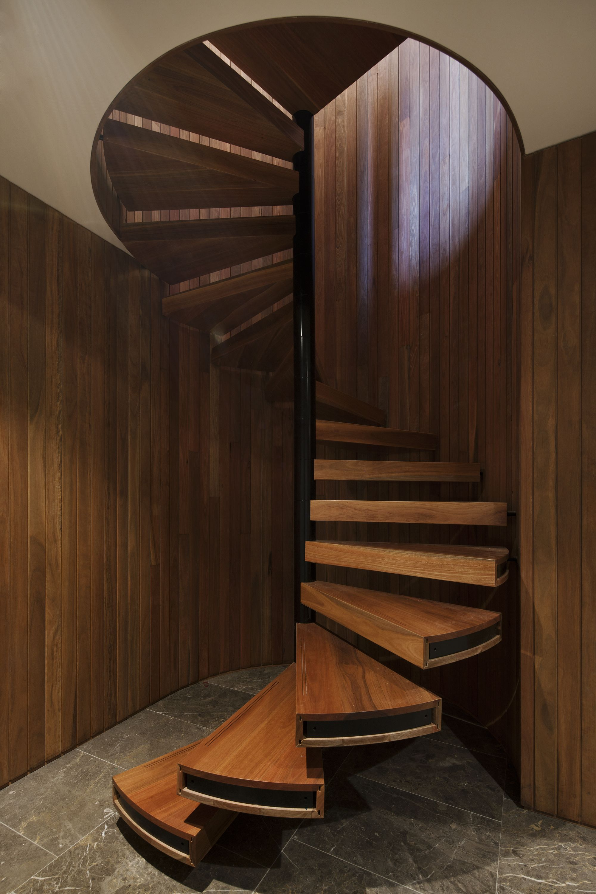 Best Tongue Groove Cladding Stairs Design Curved Walls 640 x 480
