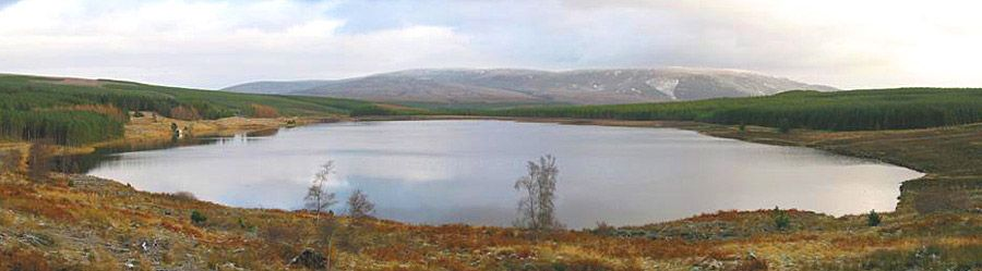 Loch Bad a' Bhathaich (pronounced Badaviach) - brown trout. Permits from TroutQuest. Tel: 01349 830606.