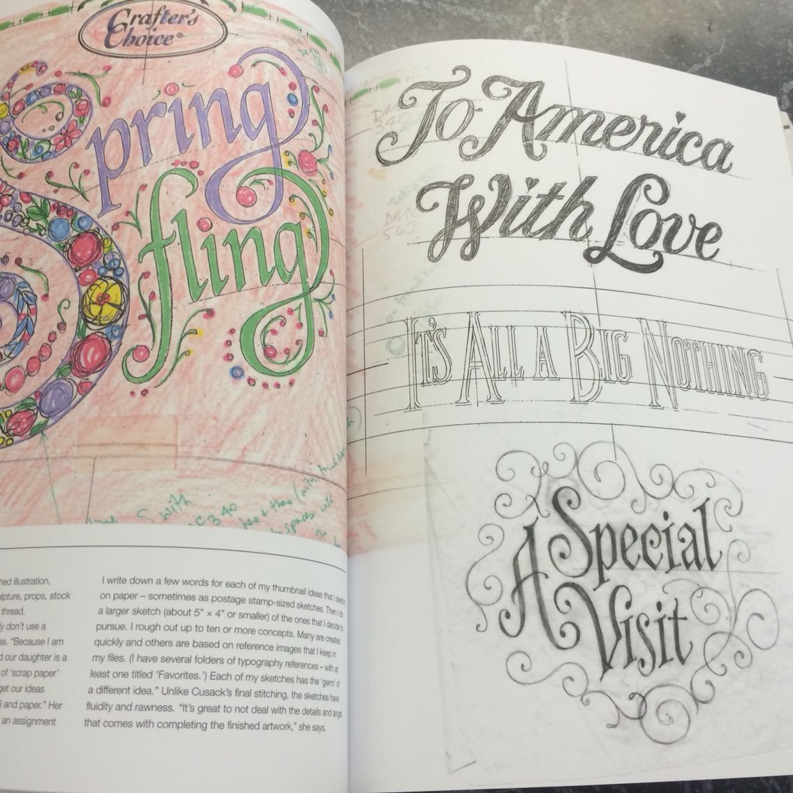 So my art teacher let me read one of her books on typography and let's just say my mind is blown