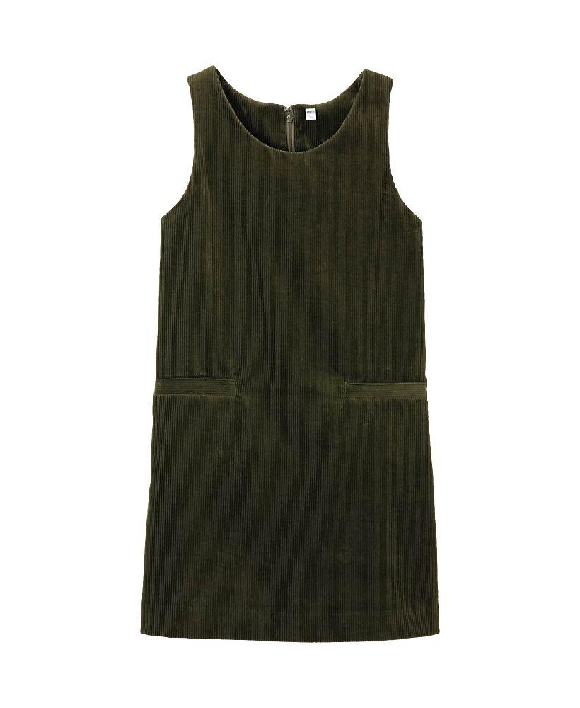 Uniqlo women corduroy sleeveless dress fall pinterest uniqlo