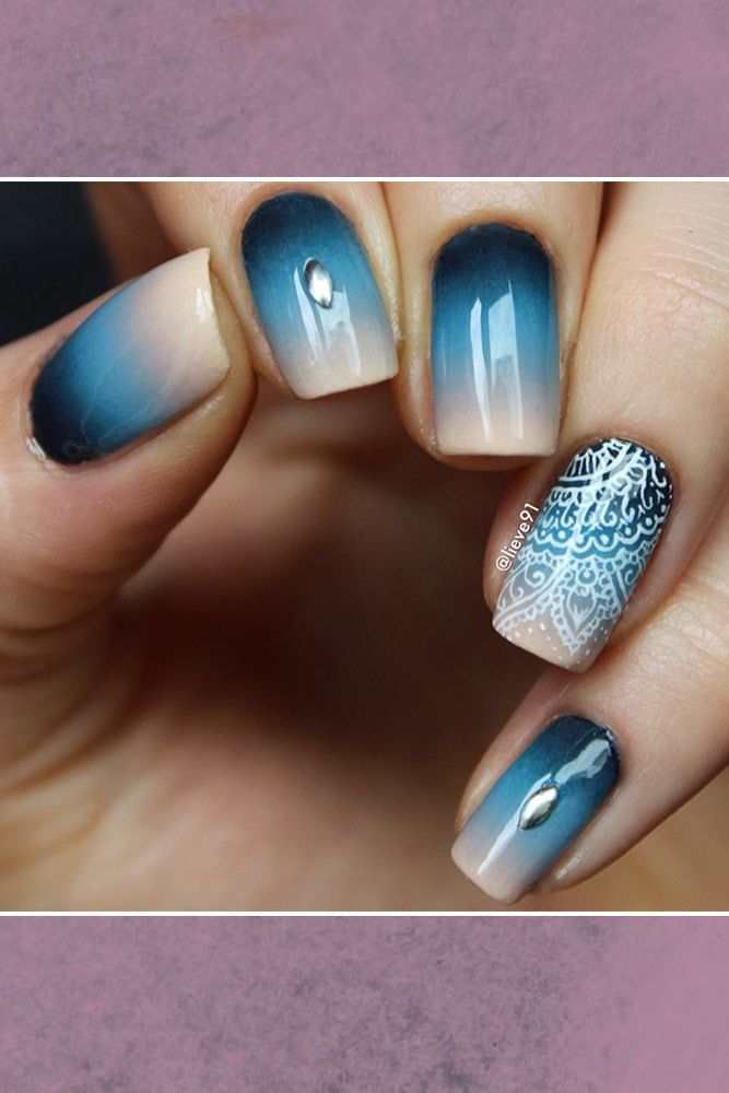 27 Ideas for Ombre Nails That Will Glam Your Look | Ombre, Manicure ...