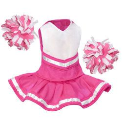 Bear and Doll Cheerleader Outfits #18inchcheerleaderclothes