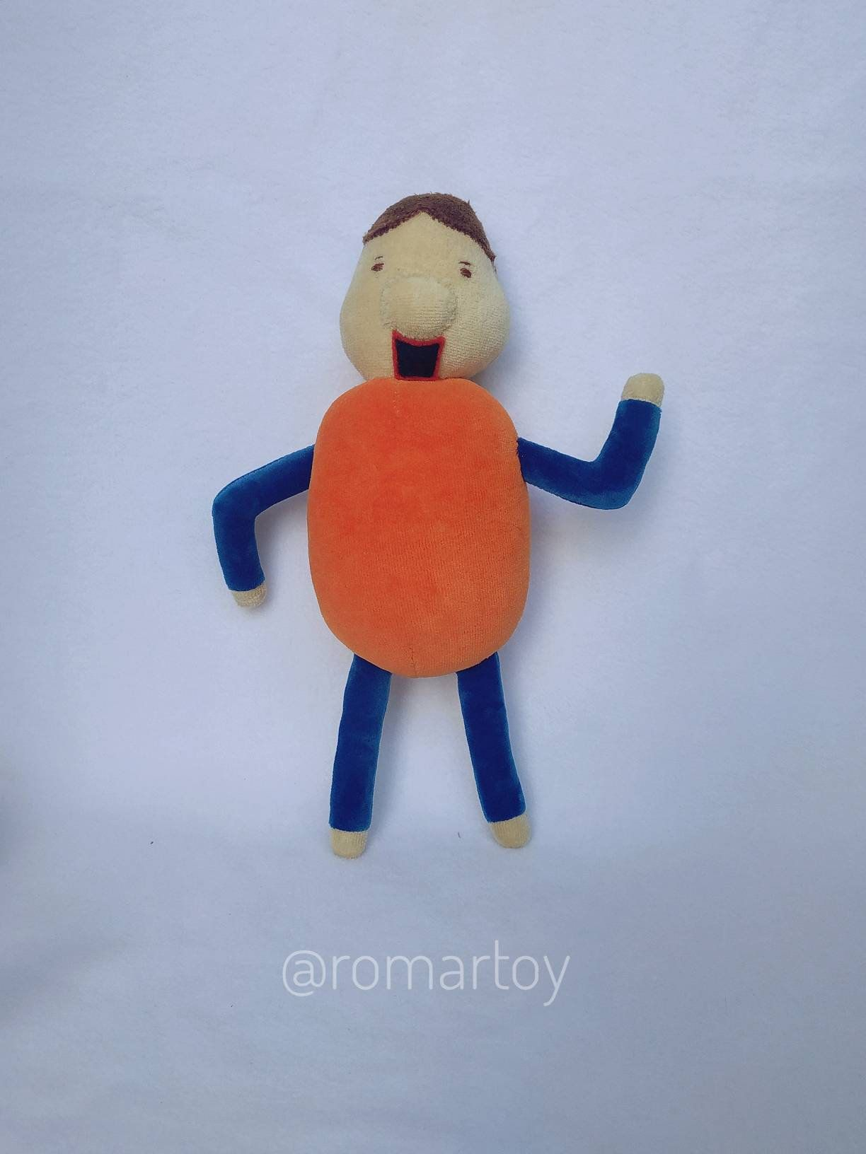 It S A Bully Plush Baldi S Basics In Education And Learning Unofficial Plush Toy