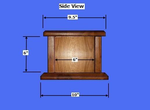 Free Wood Cremation Urn Box Plans - How to Build Wood Cremation Urns  sc 1 st  Pinterest & Free Wood Cremation Urn Box Plans - How to Build Wood Cremation ... Aboutintivar.Com
