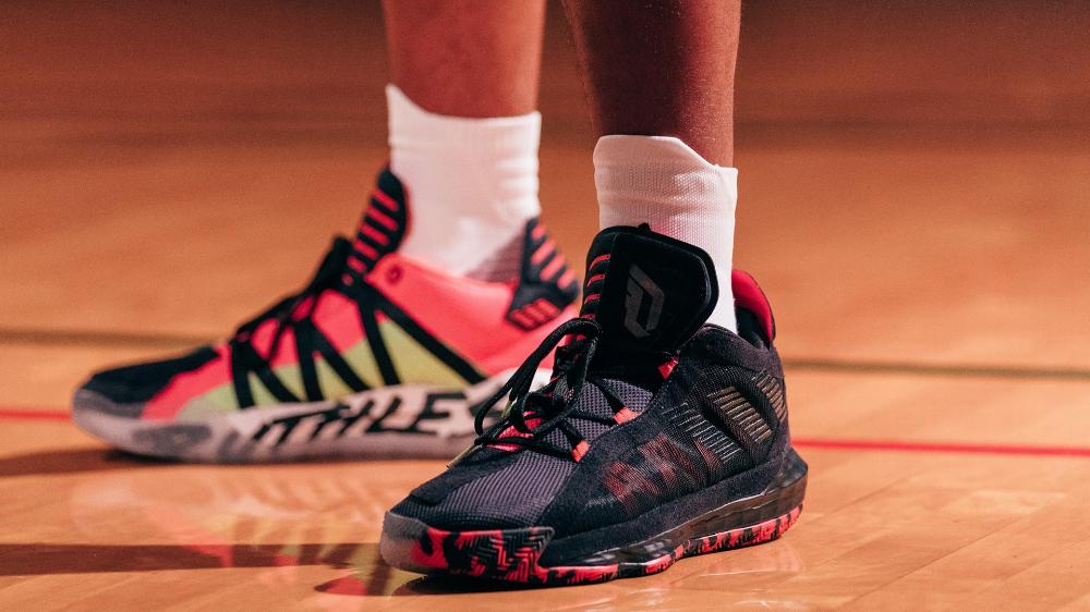 Adidas Spotlights Damian Lillard S Creative Identity On Off The Court With Dame 6 Adidas Dame Damian Lillard Sneakers
