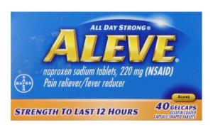 Save $2. on Aleve, 40ct+!