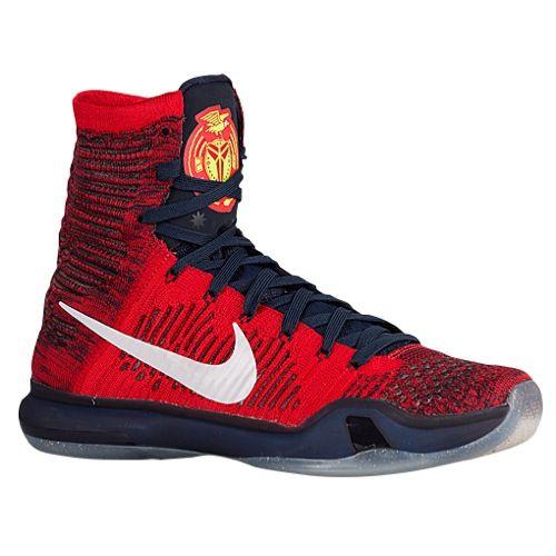 nike kobe 10 elite mens basketball shoes kobe bryant university red
