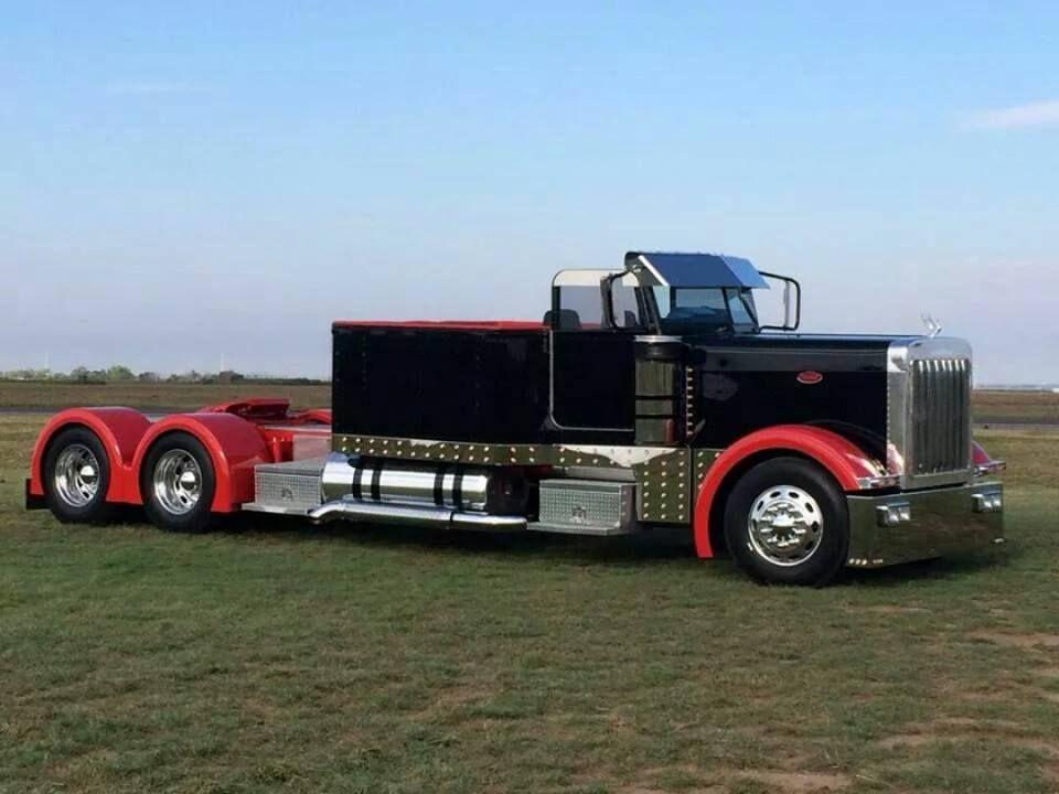 Semi convertible big trucks peterbilt trucks new trucks