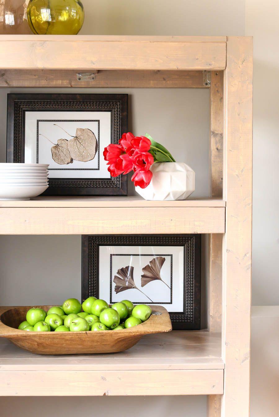 DIY Bookshelf with Simpson Strong-Tie® | Pinterest