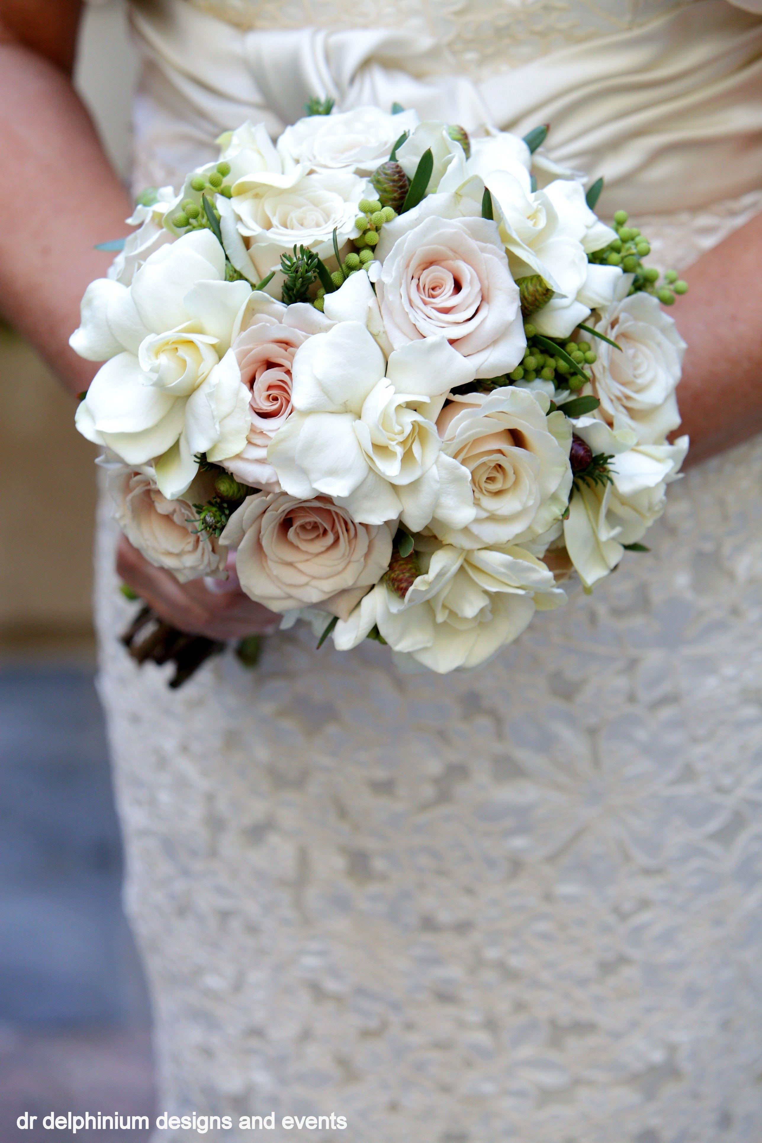 Dr Delphinium Bouquet Gardenia Roses Gardenia Bridal Bouquet