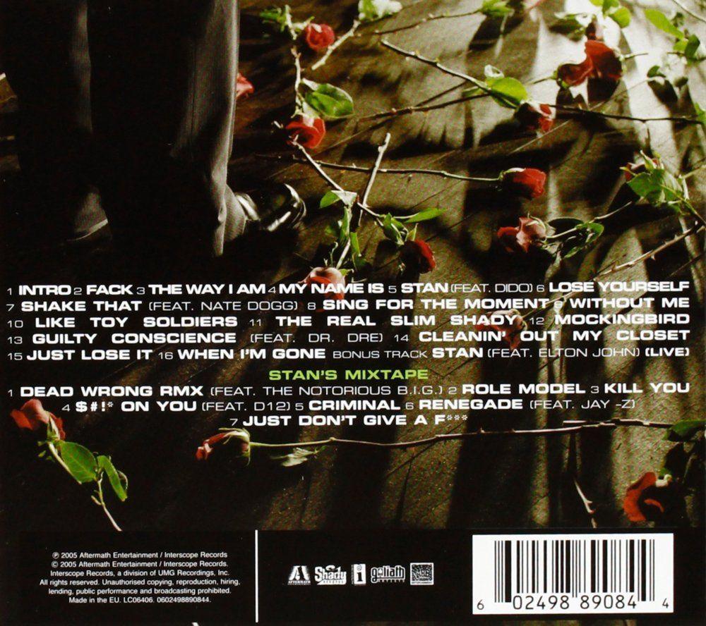 Eminem U2013 Curtain Call [Tracklist + Album Artwork]
