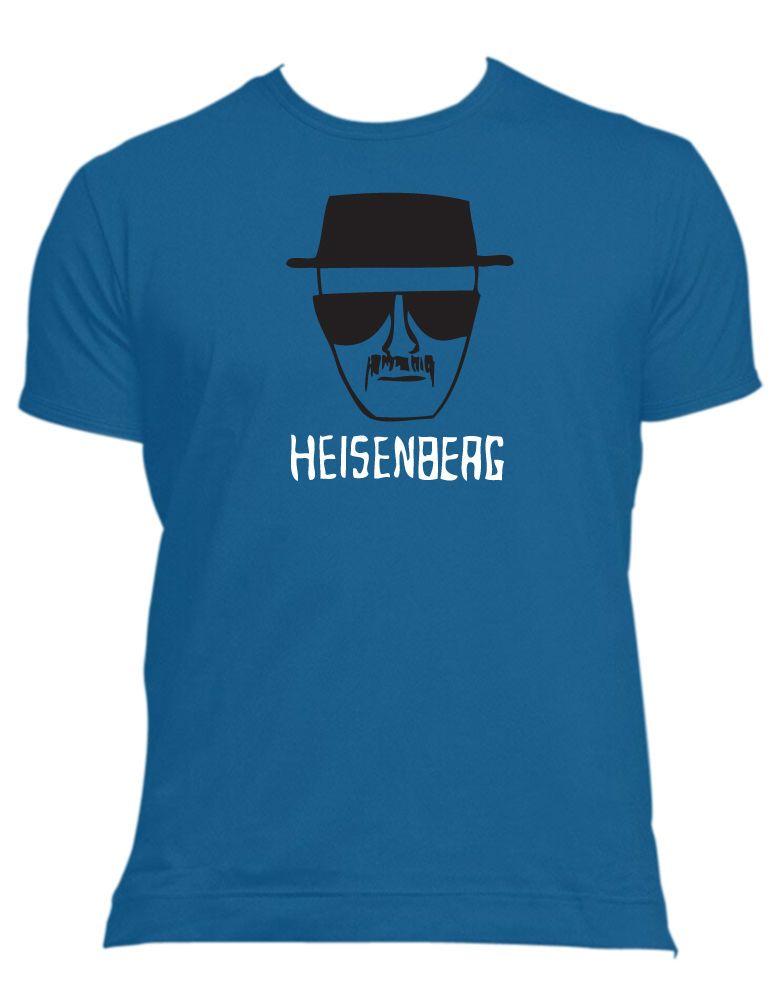 BREAKING BAD heisenberg sketch t-shirt Male, Female all sizes & colours tv funny