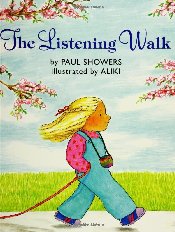 The Listening Walk By Paul Showers Ill By Aliki With Images