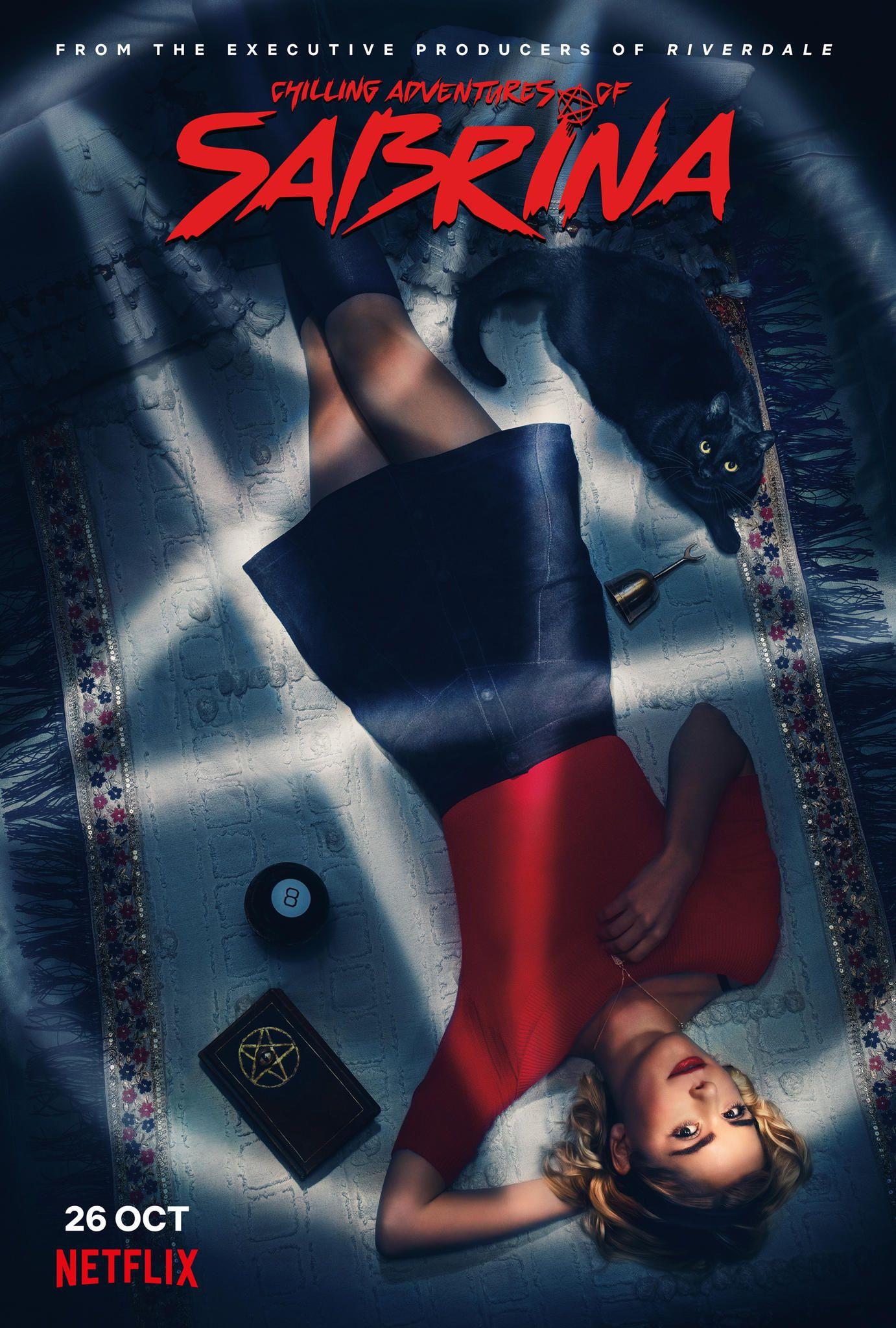 Chilling Adventures of Sabrina auf Netflix naht und hat ein neues Poster. #seriesonnetflix