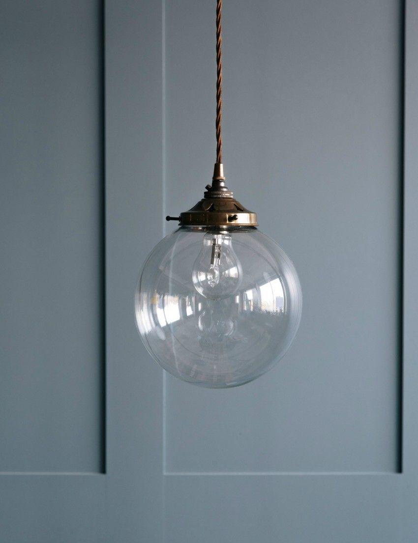 Globe Blown Glass Pendant Light | Blown glass, Glass pendants and ...