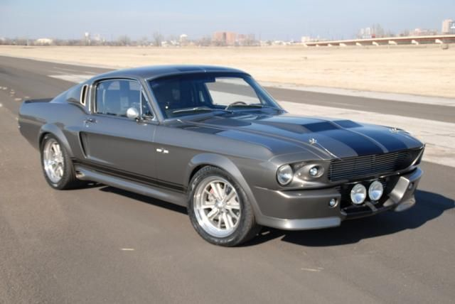 1968 Ford Mustang Shelby GT 500  Heavy Metal Love  Pinterest