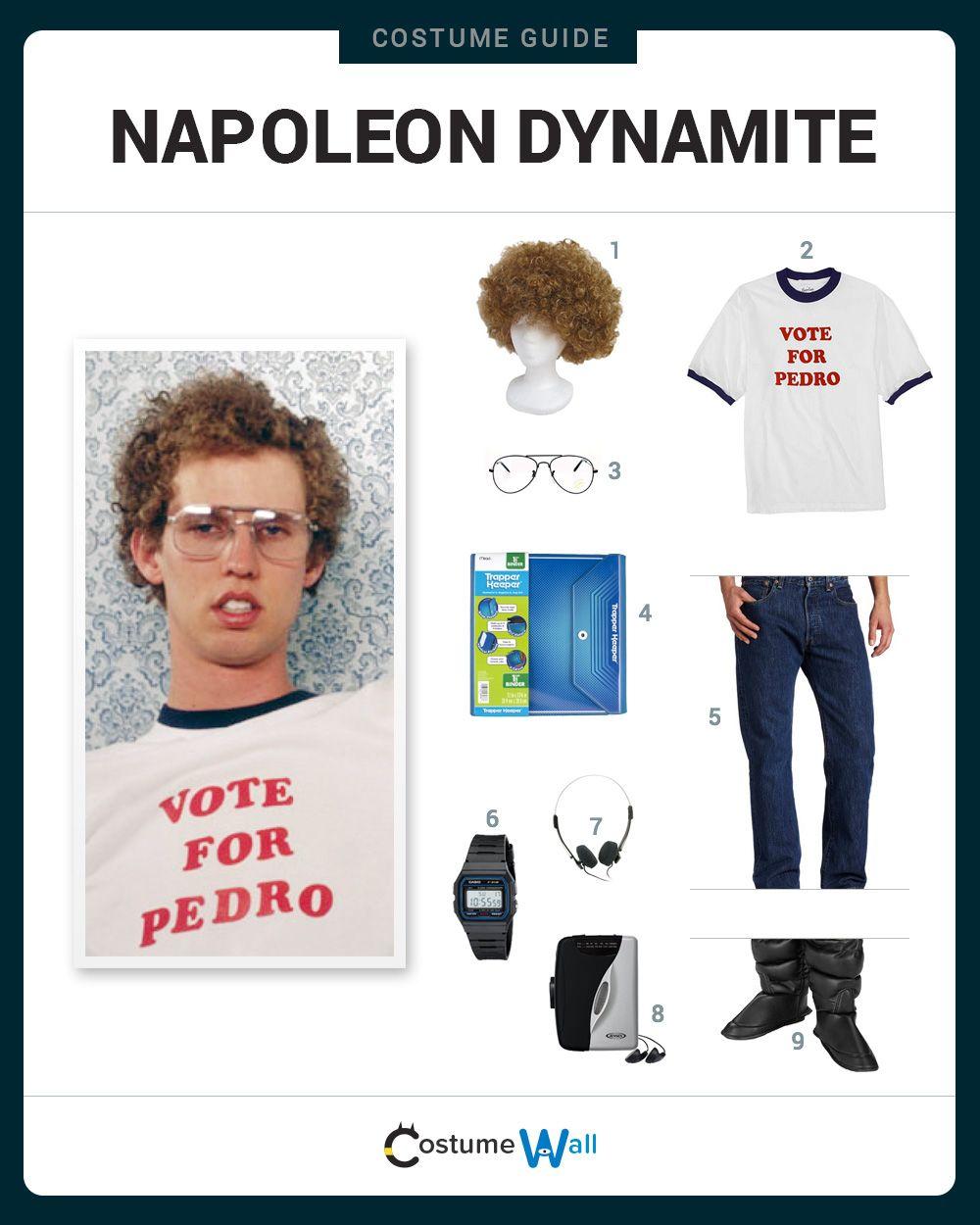 Dress Like Napoleon Dynamite Napoleon Dynamite Napoleon Dynamite Costume Spirit Week Outfits