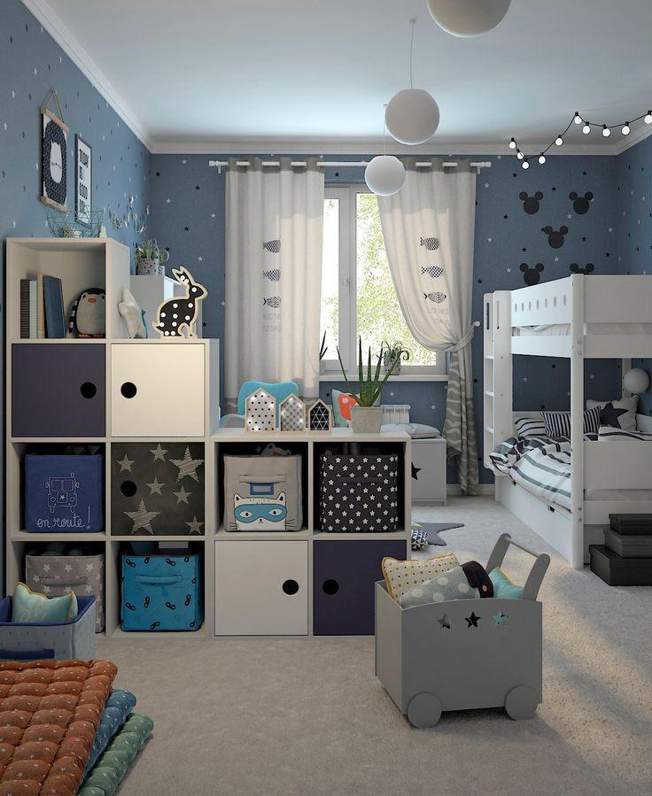 Chambre Jumeaux: Детская комната - Галерея 3ddd.ru