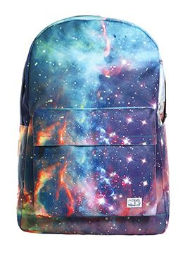 You'll turn some heads in this Spiral Neptune Galaxy Backpack ! #galaxy