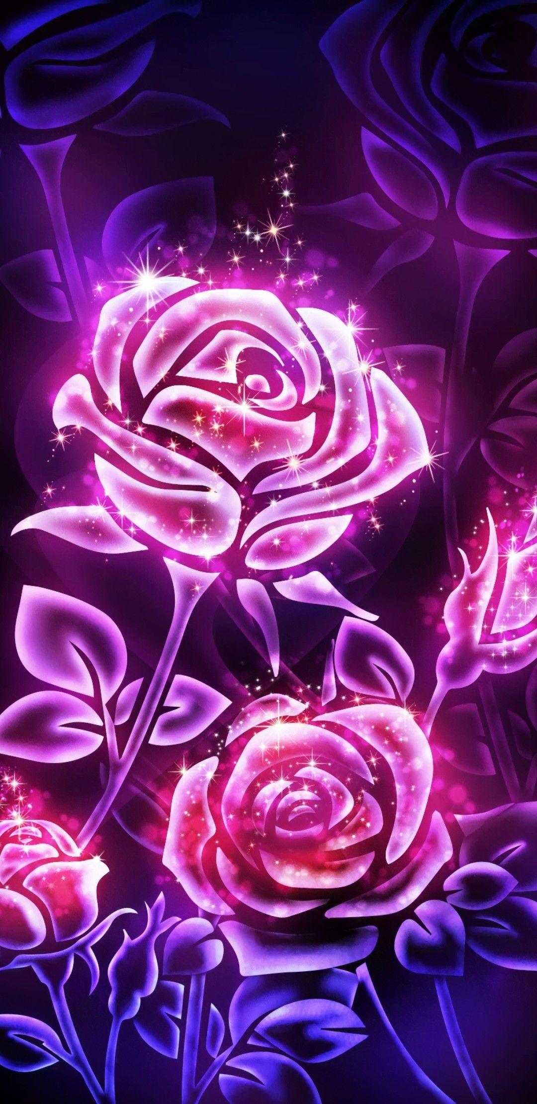 Pin By Kandi Huddleston On Bright Glow Wallpaper Flower Phone Wallpaper Rose Pink Wallpaper Flower Wallpaper