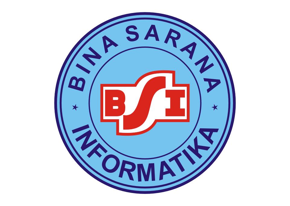 Logo BSI (Bina Sarana Informatika) Vector Papan, Guru