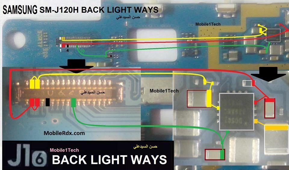 Samsung SM J120H Display Light Ways Lcd Jumper Solution