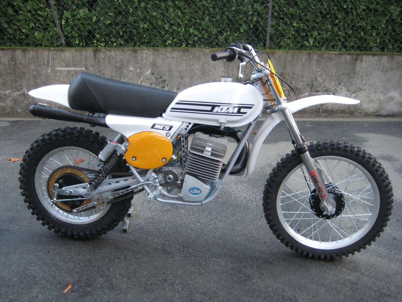 Ktm Mc 400 1976 Enduro Motorcycle Vintage Motocross Ktm Dirt Bikes