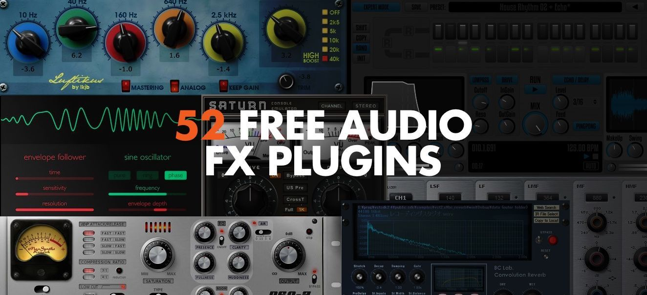 There Are Some Excellent Audio Effect Plugins Available And