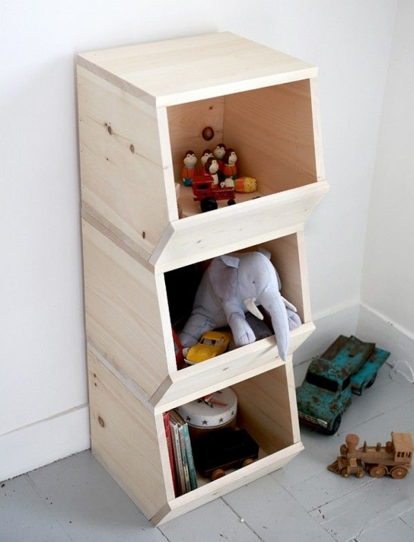 rangement jouet le guide ultime 24 id es originales bacs de rangement bois diy et. Black Bedroom Furniture Sets. Home Design Ideas