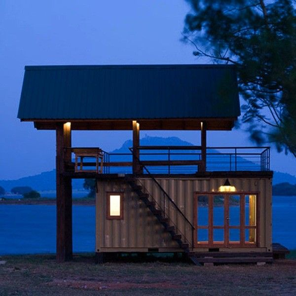 House Built Out Of Shipping Containers sri-lanka-summer-house-shipping-container | cabins | pinterest