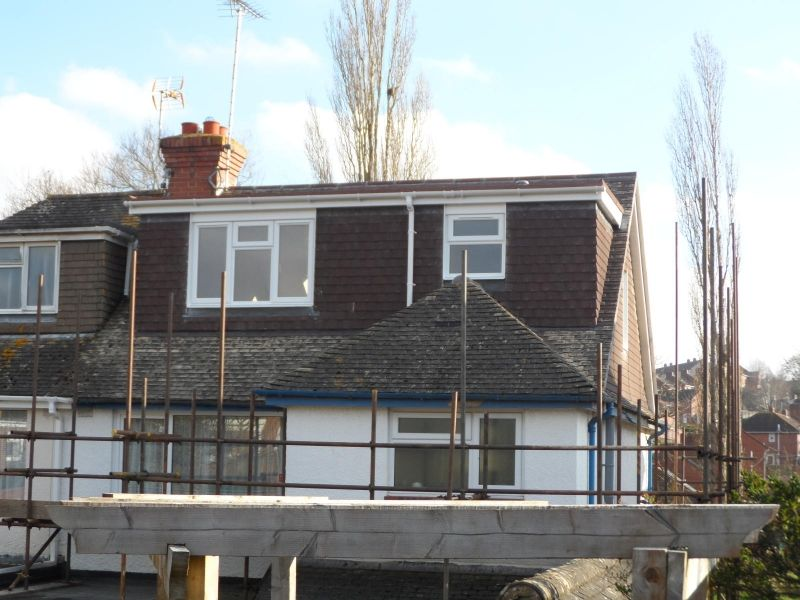 1930u0027s Semi Detached House   Hip To Tiled Gable With Flat Roof Dormer