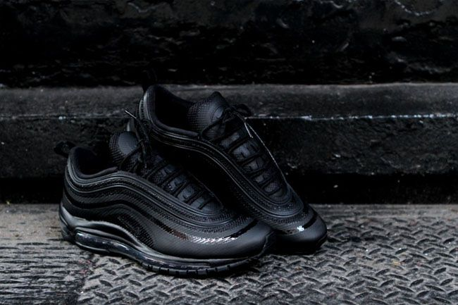 new product 58416 a7bf8 Nike Air Max 97 Hyperfuse - Black / Black - Neutral Grey | Sneakin ...
