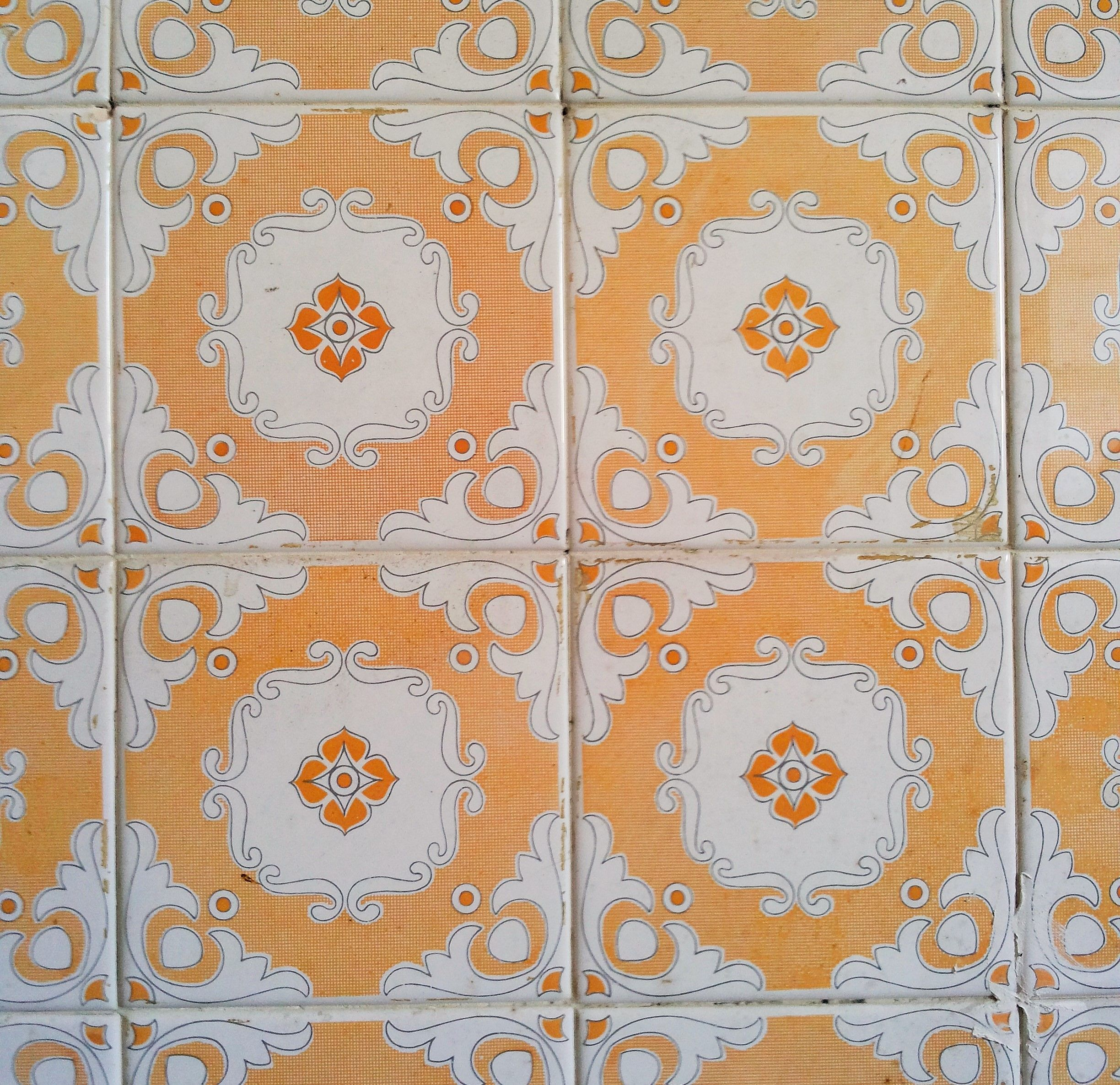 texture and colour board: tiles