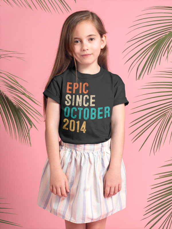 Awesome 2014 T-Shirt 6th Birthday Gift ideas T-Shirt For 6 Year Old Boys /& Girls