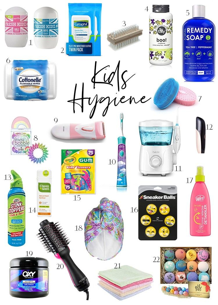 Health care products for children