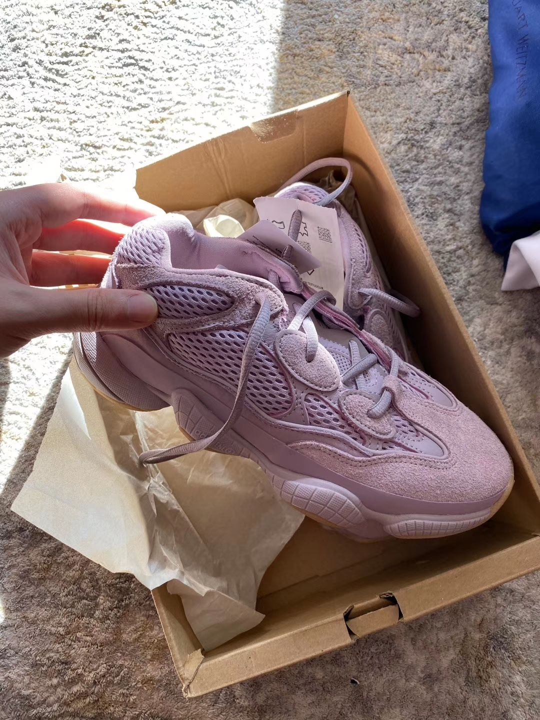 Yeezy 500 Soft Vision FW2656 en 2020 | Chaussure mode