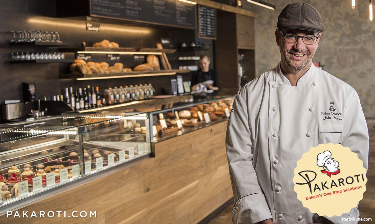 John Kraus adalah pastry chef Amerika pertama yang