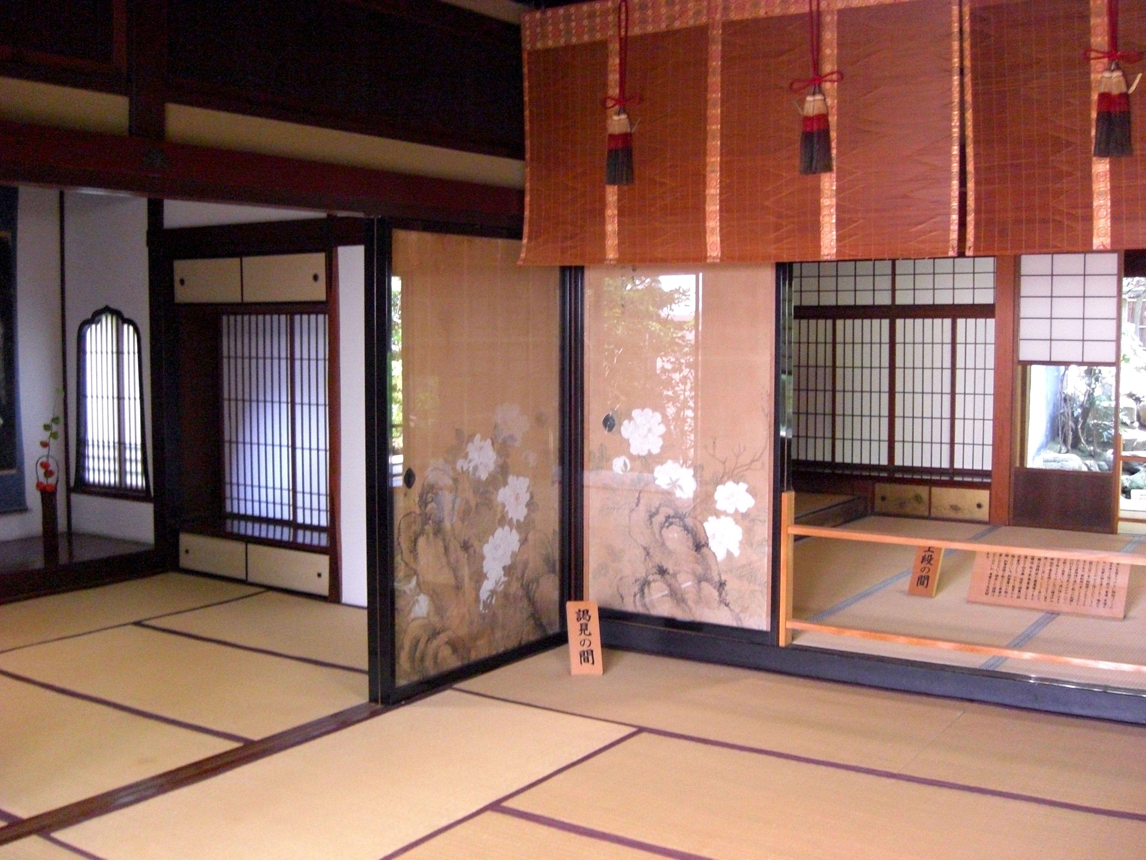 Japan samurai house
