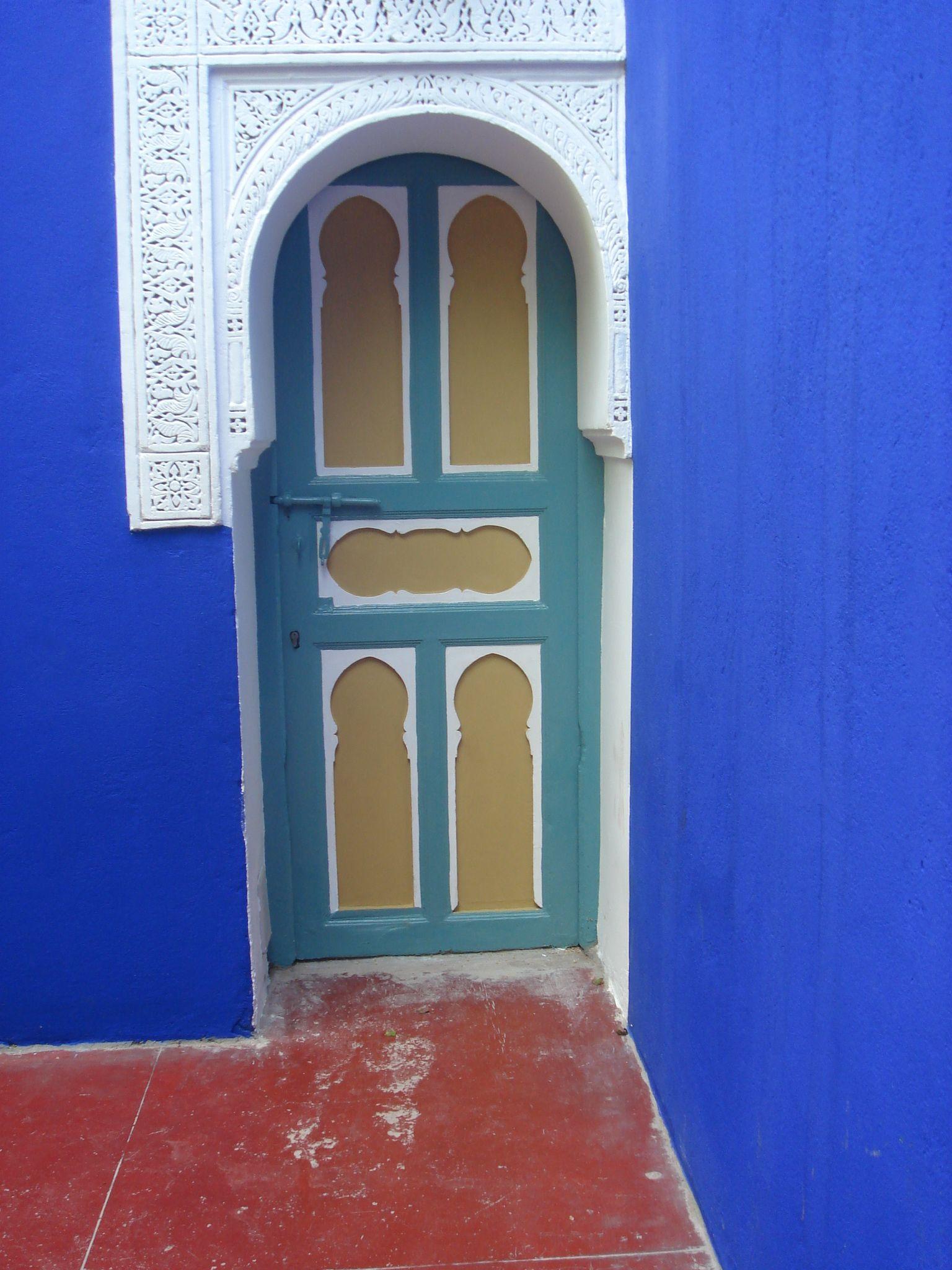 Marokko voordeuren en hekken pinterest