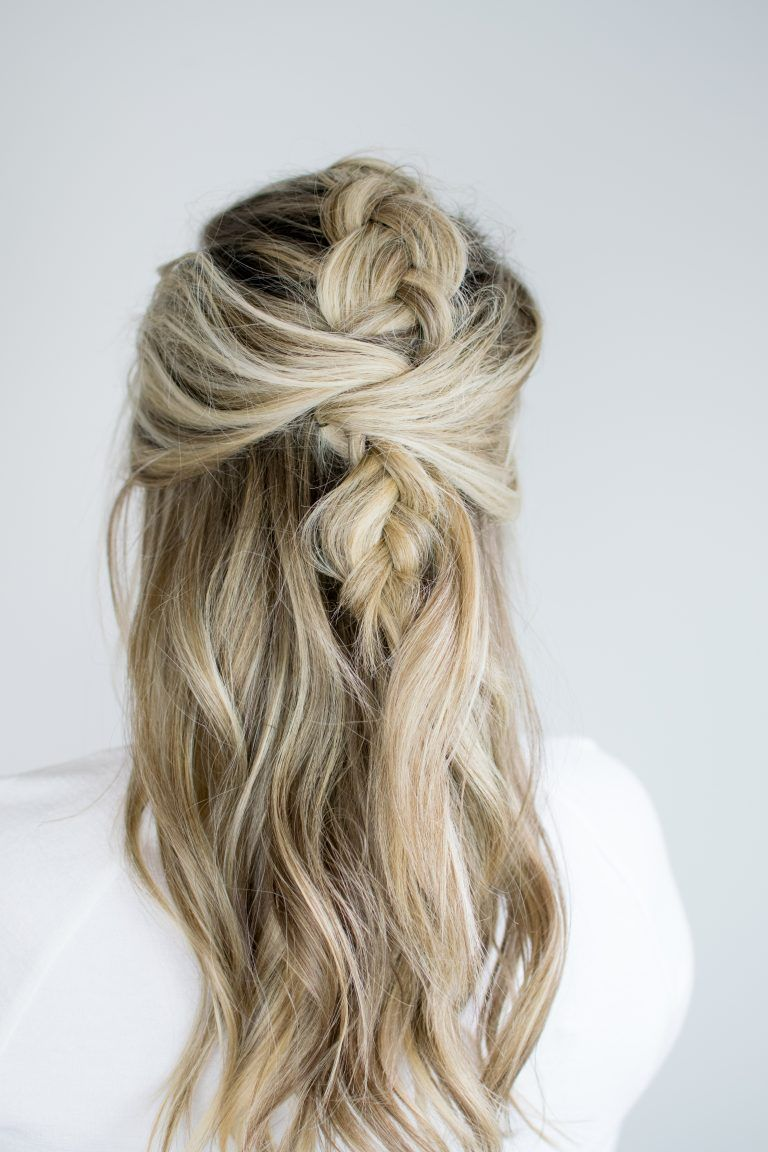 Messy mohawk braid tutorial the small things hairstyles