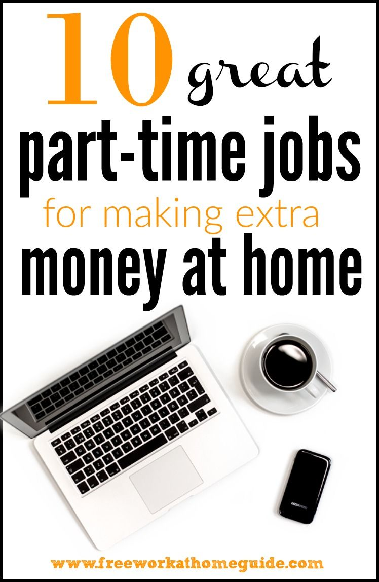 10 great part time online jobs for earning extra money at home great list of part time jobs and side income ideas for moms lancers