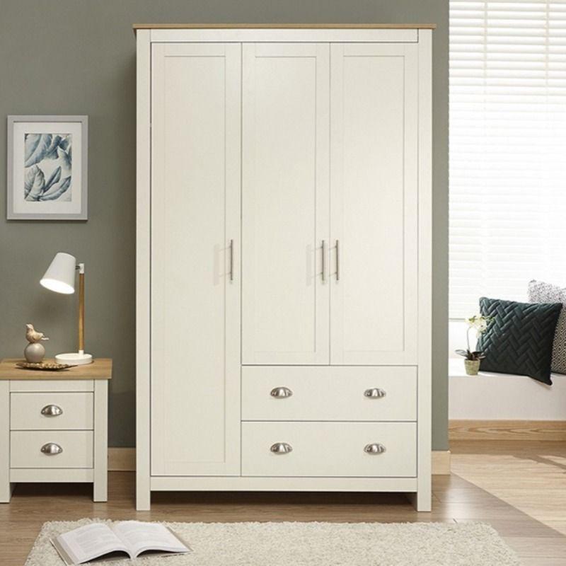 Gfw Lancaster 3 Door 2 Drawer Wardrobe At Mattressman In 2020 Top Quality Bedroom Furniture 3 Door Sliding Wardrobe Quality Bedroom Furniture