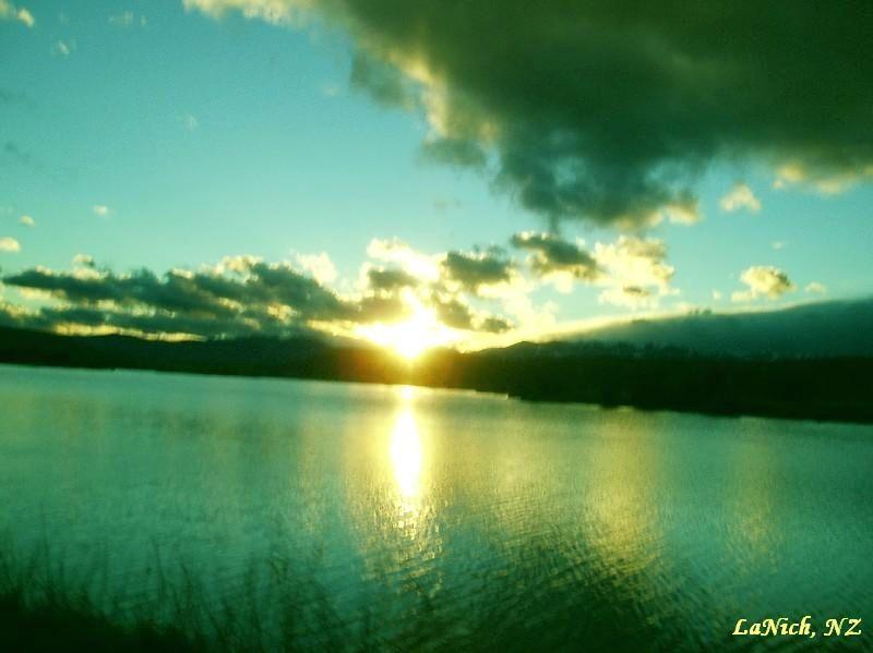 Blue evening twizel nz by larisa nicholls with images