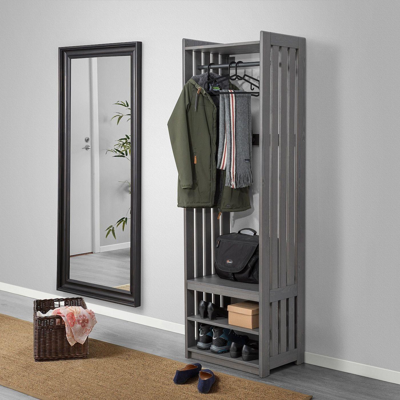 panget coat rack with shoe storage unit