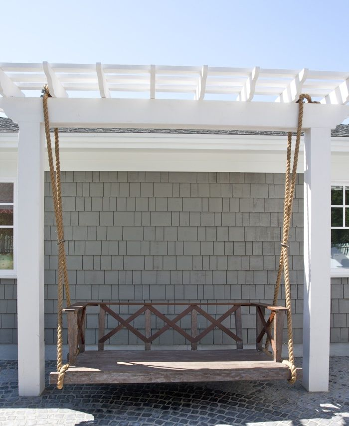 Outdoor swing by Caitlin Creer